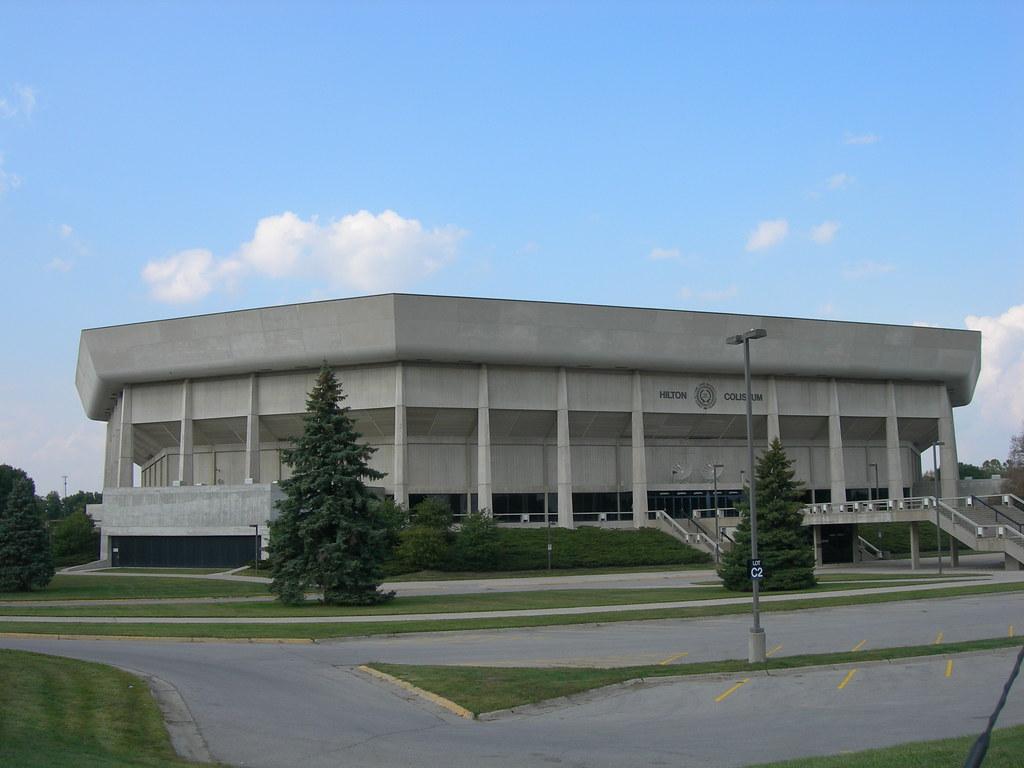 Hilton Coliseum Ames Iowa Home Of The Iowa State