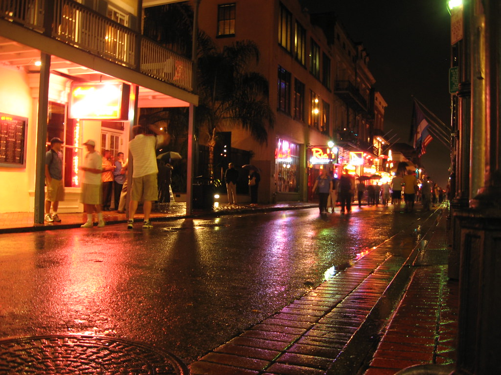 Bourbon Street Between...