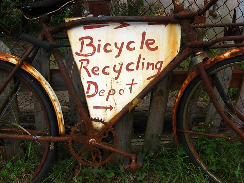 Bicycle Recycling Depot | by Peter Blanchard