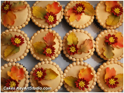 Easy Thanksgiving Themed Cakes