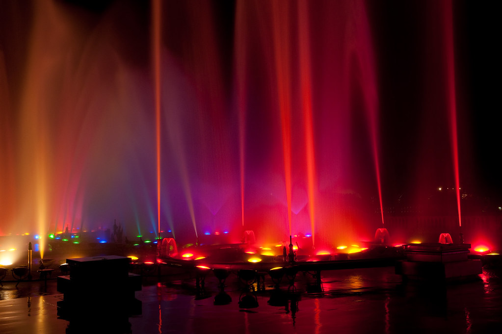 The Mechanicals Behind The Longwood Gardens Fountain Show Flickr