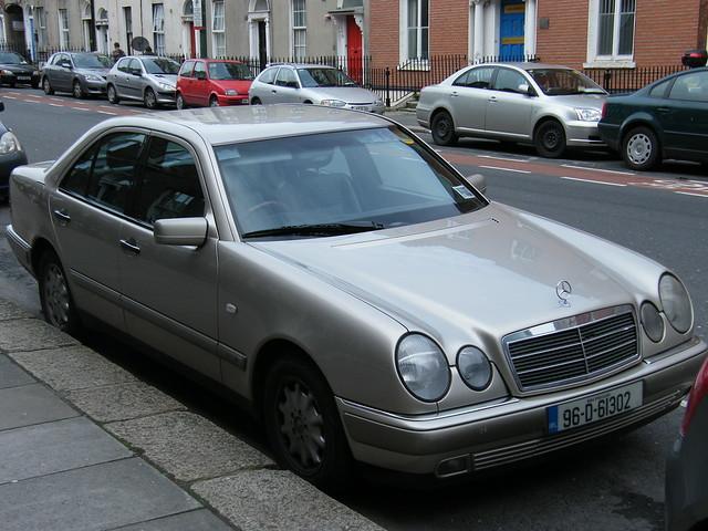 Mercedes Benz E Class Limousine In Dublin Ireland 26
