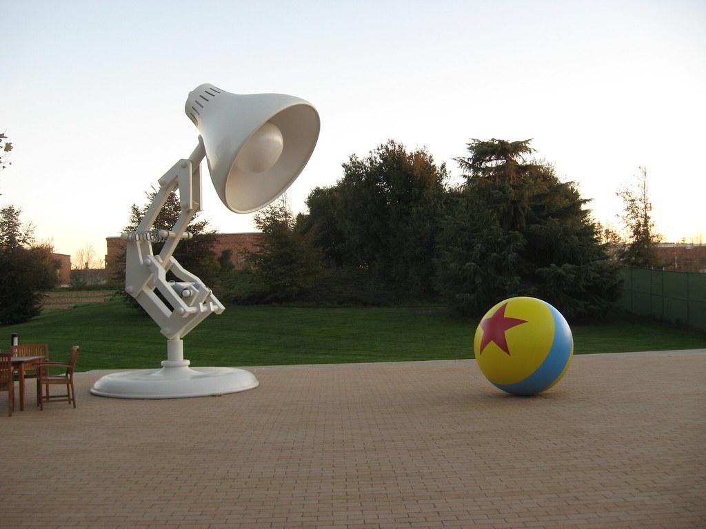 Iconic Pixar Lamp Amp Ball Pixar Animation Studios