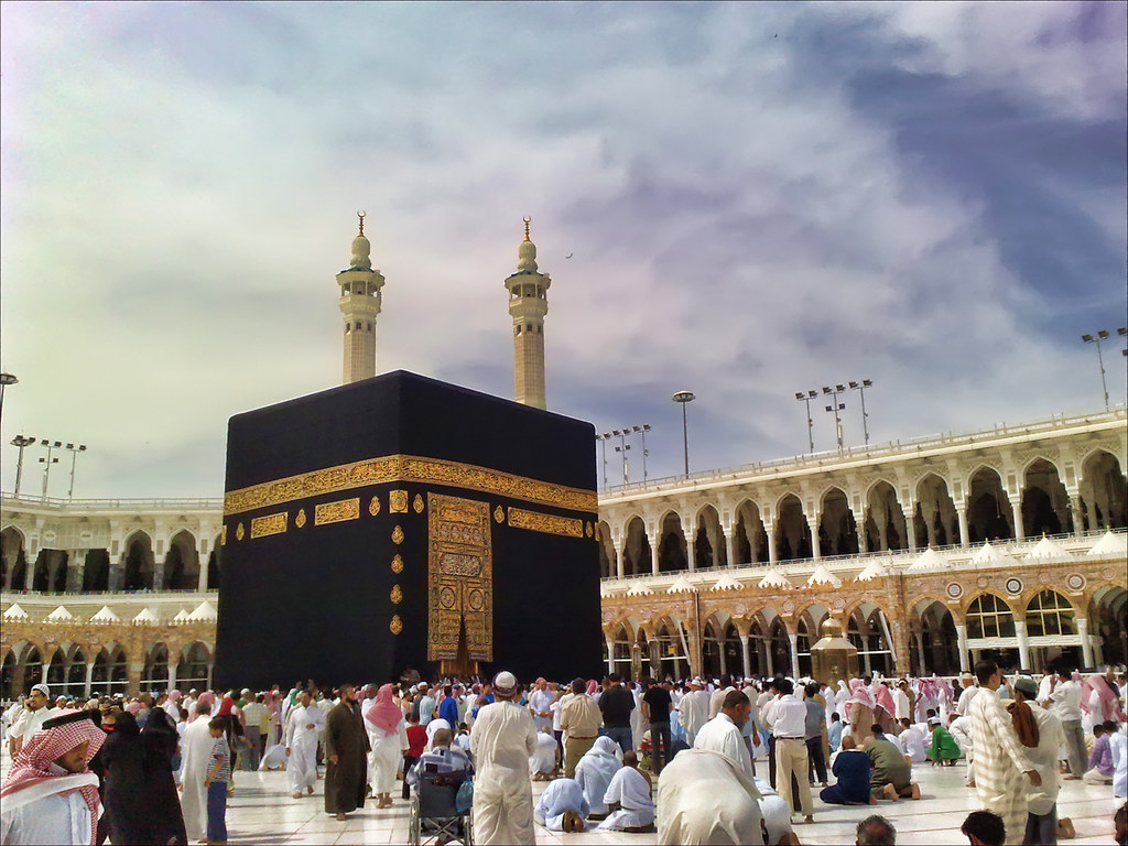 Went To Makkah For An Umrah, Took This Shot Using