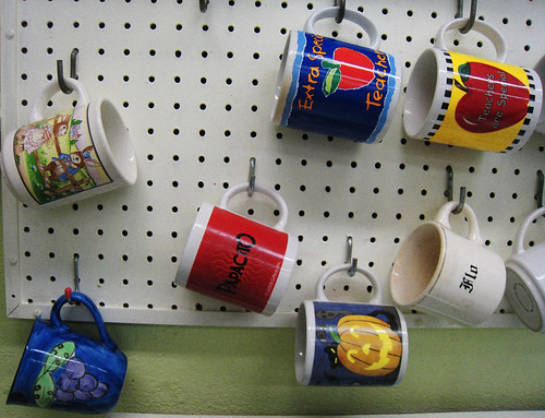 teacher mugs | by Bill Selak