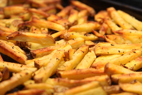 Oven roasted french fries | by Gudlyf