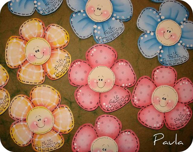 Fel z primavera goma eva pintada im n paula flickr for Decoracion primavera manualidades