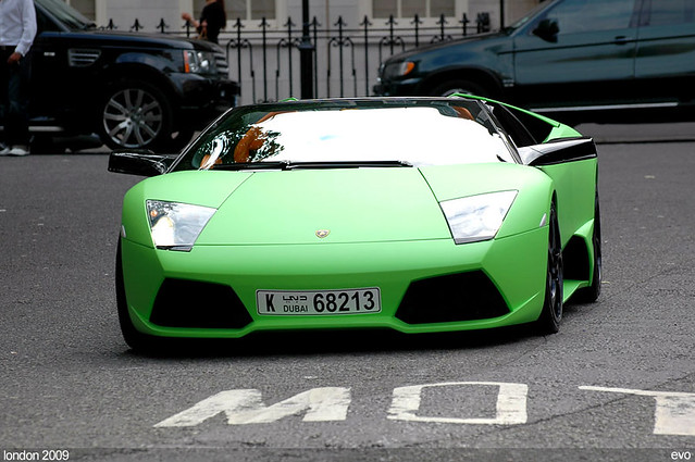 Free Download Free Green Lambo: Lime Green Lamborghini LP640 Roadster