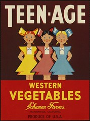 Teen-Age: Western vegetables, Schuman Farms., Watsonville, California, produce of U.S.A. | by Boston Public Library