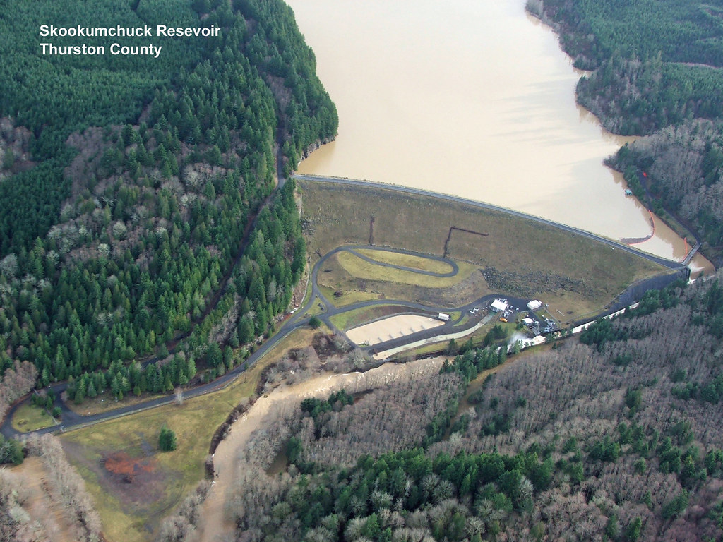 Skookumchuck Dam   On the Skookumchuck River in Thurston Cou…   Washington State Dept of ...