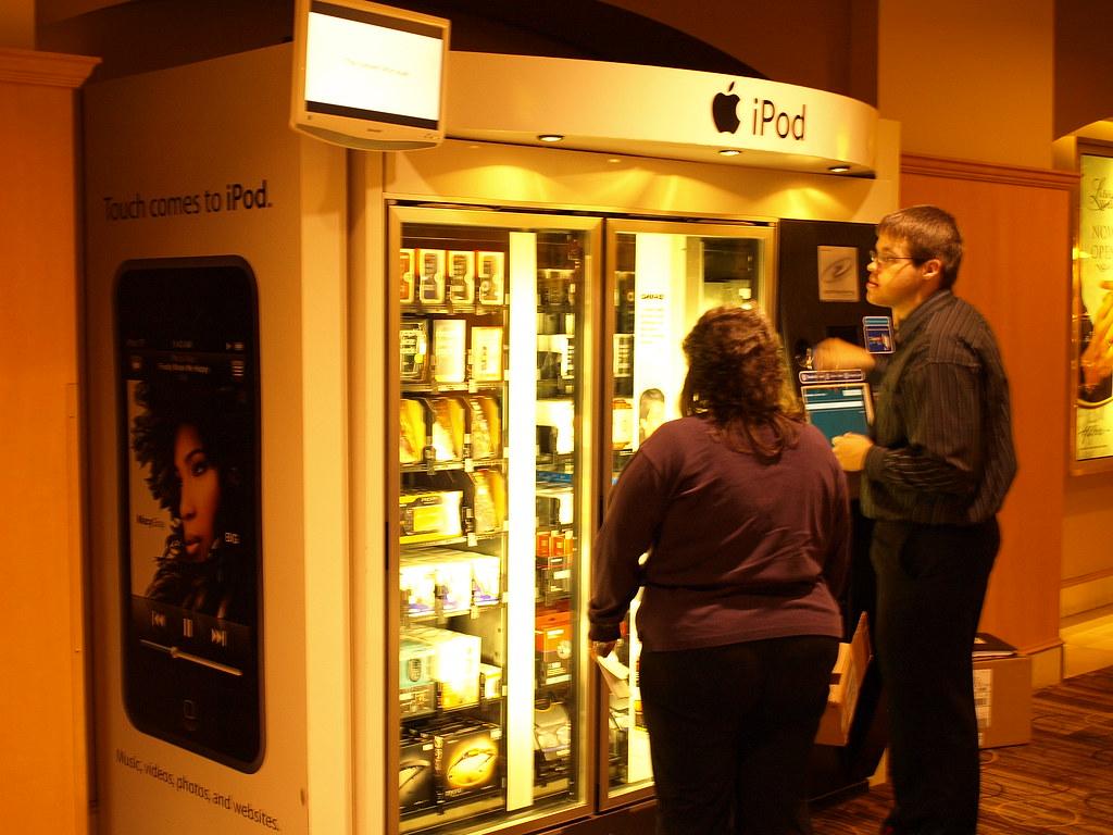 apple vending machine