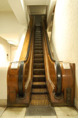 Vintage Escalator Kaufmann S Department Store Pittsburgh