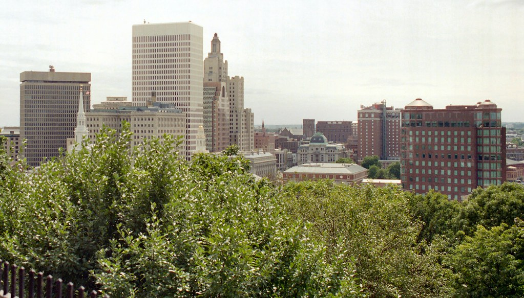 B 12d college hill downtown providence from prospect ter for Terrace in a sentence