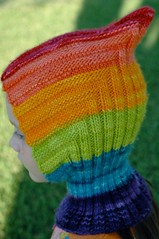 wip wednesday :: rainbow hoodie | by waldorf mama