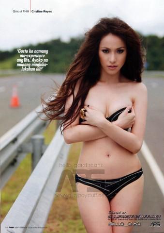 Christine reyes desnuda fhm