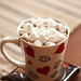 Hot chocolate with marshmallows!