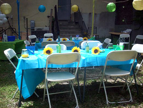 Baby Shower Table Setup | Tiffany Bennett Johnson | Flickr