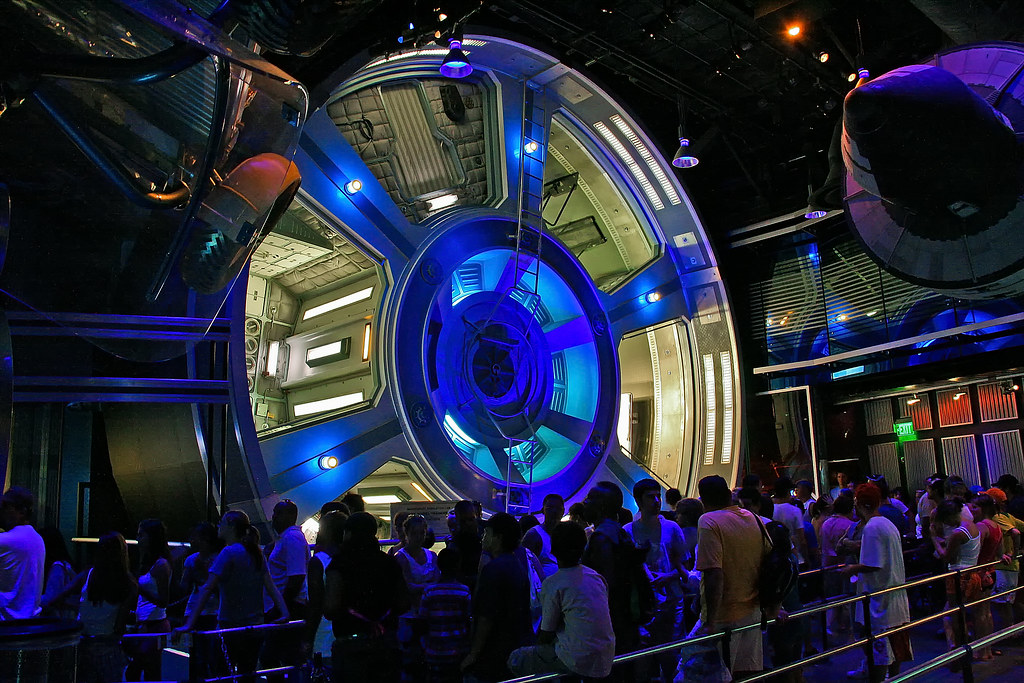 EPCOT Center - Mission: Space Gravity Wheel(Explored)   Flickr