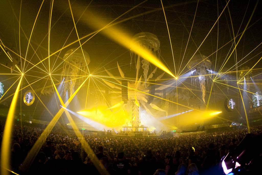 sensation black lasers wallpaper yellow lasers at