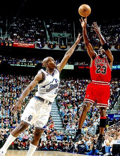 1998 NBA Finals: MJ, Bulls vs. Jazz | Chicago Bulls guard Mi… | Flickr