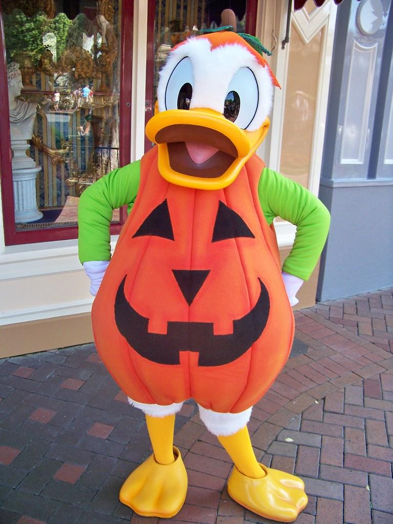 Pumpkin Donald Duck | Loren Javier | Flickr