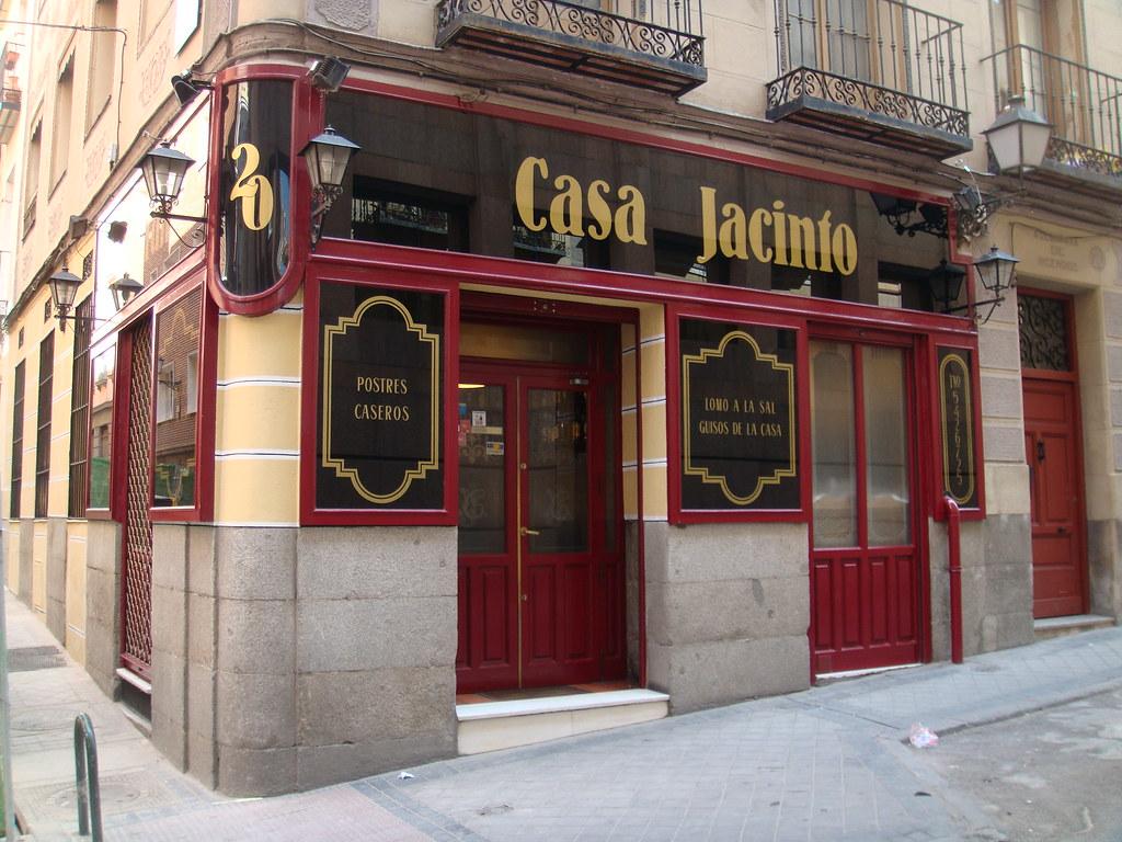 Restaurante casa jacinto madrid vista exterior pablo - Casa arabe madrid restaurante ...