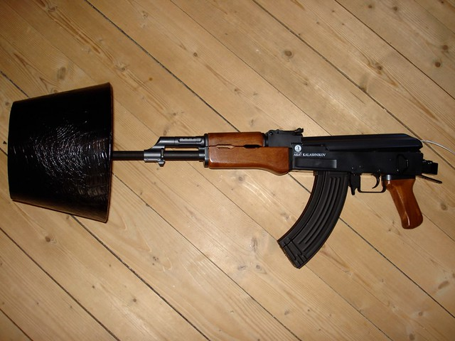 ... AK47 Lamp | By 4apples