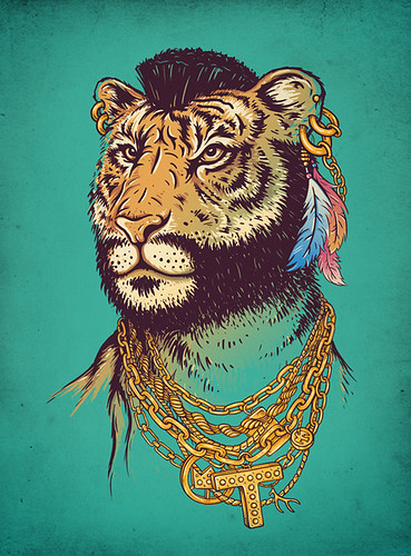 Mr. T(iger) | by enkel dika