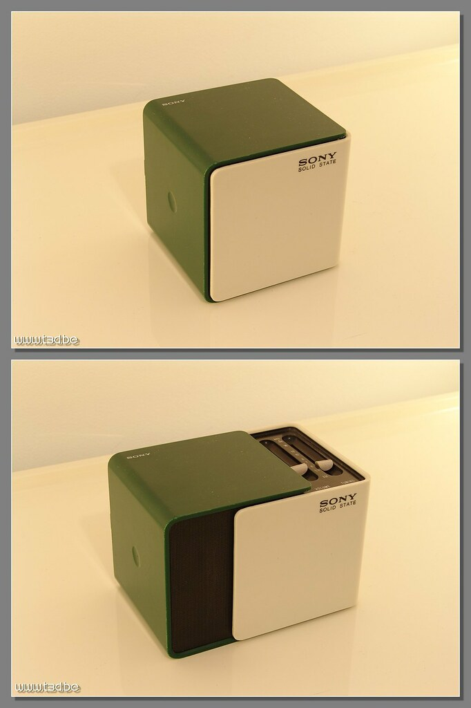 Green sony tr 1825 green and white sony tr 1825 cube for 1825 2