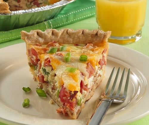 Tomato-Bacon Quiche Recipe   Flickr - Photo Sharing!