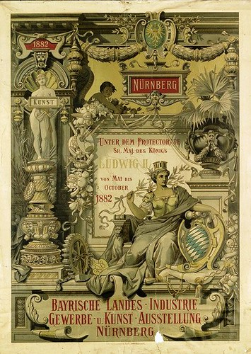 Bavarian Industrial, Commercial & Art Exhibition Nuremberg (1882) | by Susanlenox
