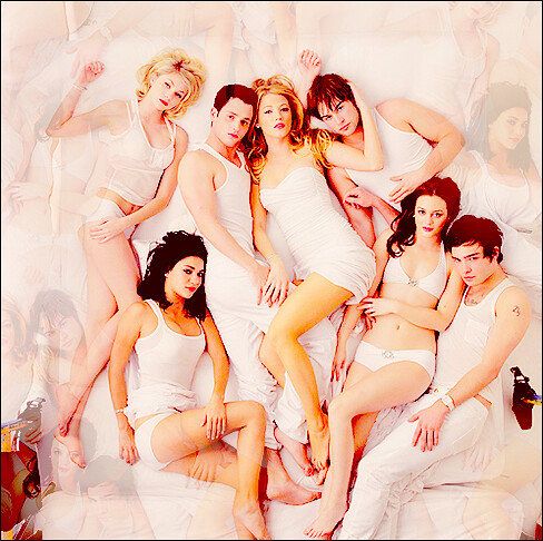 Gossip Girl Cast - Blake Lively, Chace Crawford, Penn Badl… | Flickr Ed Westwick