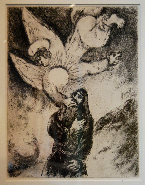Chagall: The Call of Jeremiah   Flickr - Photo Sharing! Chagall Gouaches Jeremia