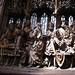 Rothenburg church wood carved altar