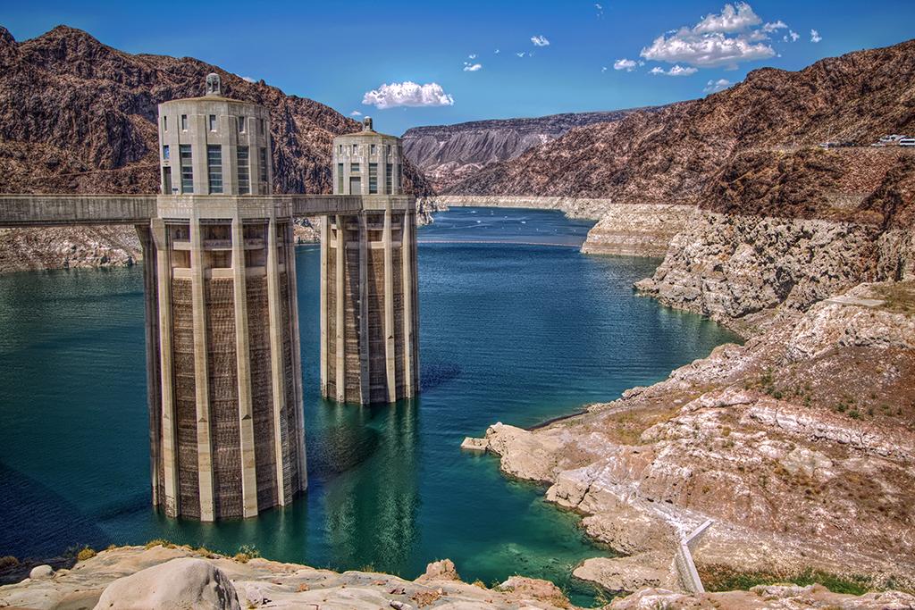 Lake Mead Hoover Dam Hoover Dam Towers Lake