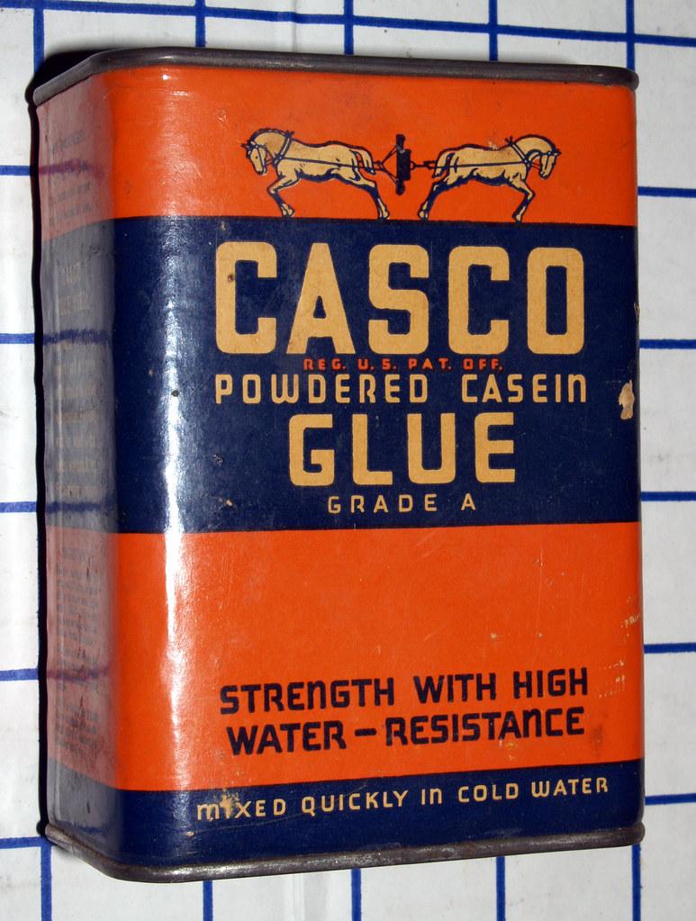 Powdered Milk as Casein Glue