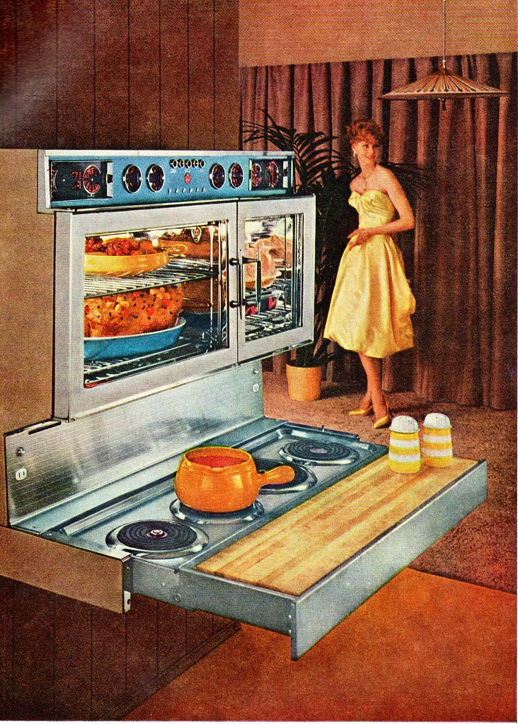 Mid Century Modern Oven ~ Tappan fabulous range and oven ethan flickr