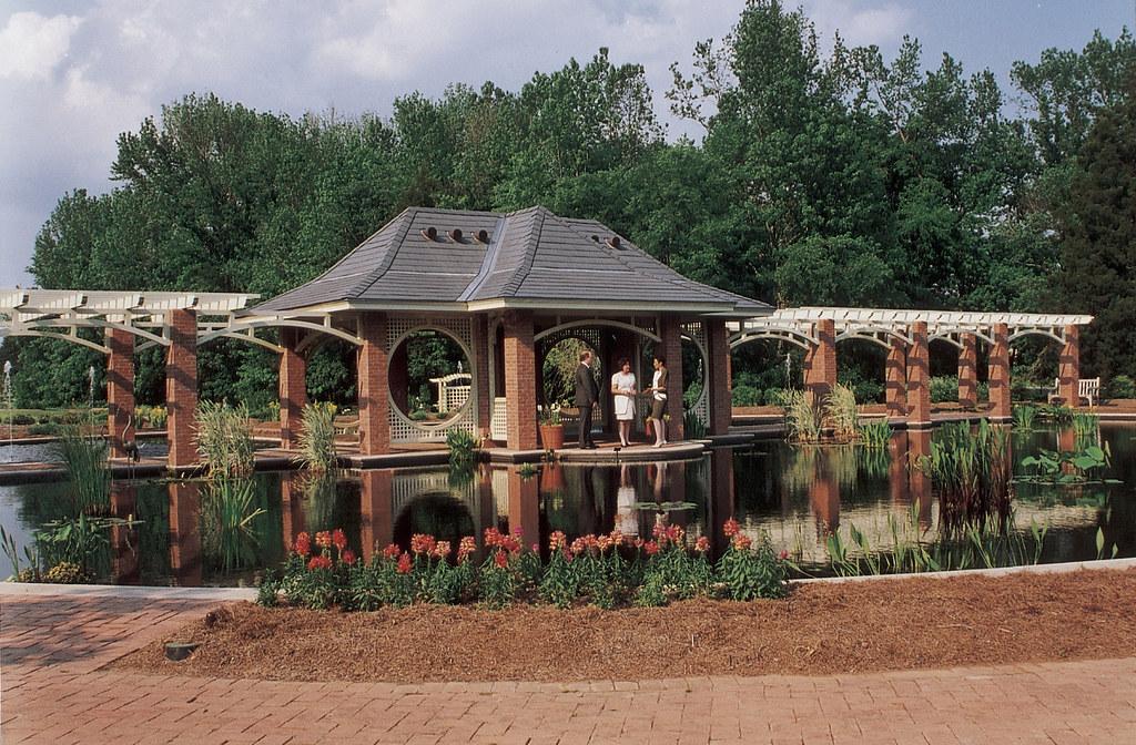 Huntsville Botanical Garden Bridge The Huntsville Botanic Flickr