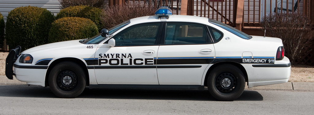 Smyrna tn police car view large smyrna has mostly for Musictown motor cars tennessee