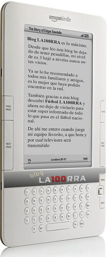 Nuevo Kindle de Amazon | by LA100RRA 3logs