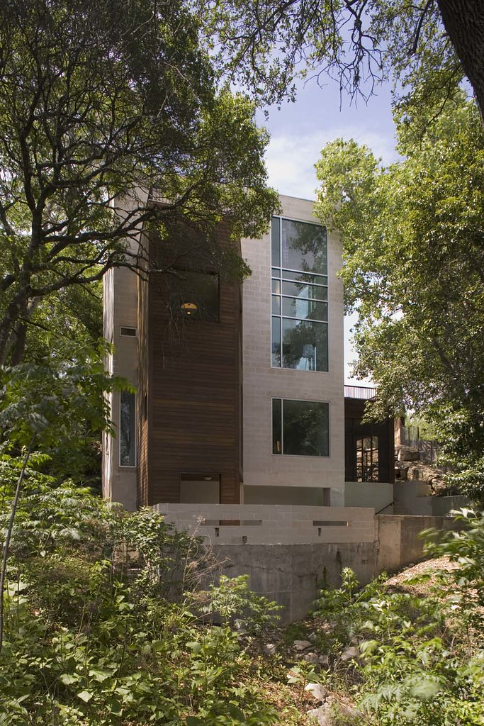 Contemporary Home Mount Baker Residence By Pb Elemental: Mount Bonnell Modern Architecture