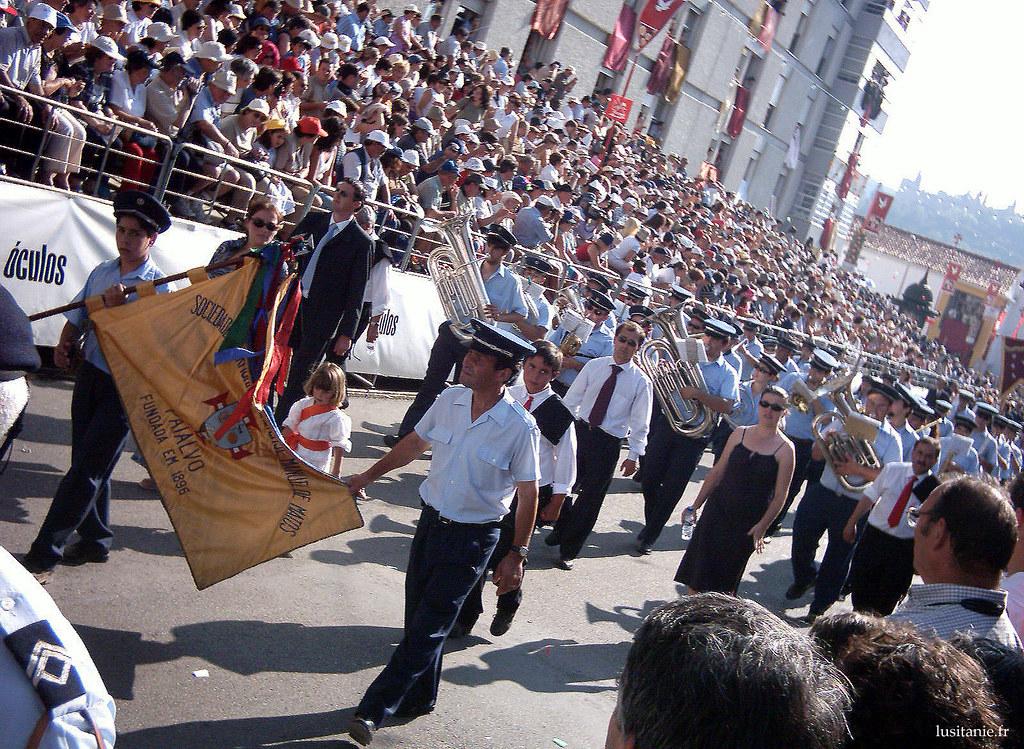 Sociedade Filarmonica, qui défile également pendant la fête