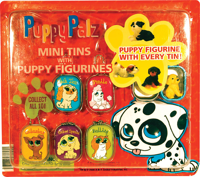 PuppyPalz Mini Tins and Puppy Figurines - PUP4CE | 8