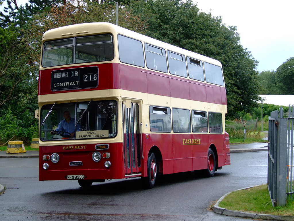 Daimler Double Deck Bus East Kent Daimler Double Deck Buso Flickr