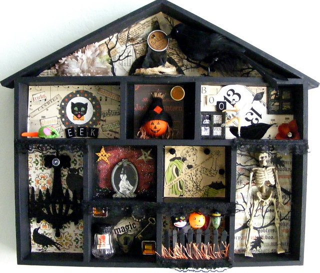 Halloween Shadow Box...blogged | sold thanks | Tina | Flickr