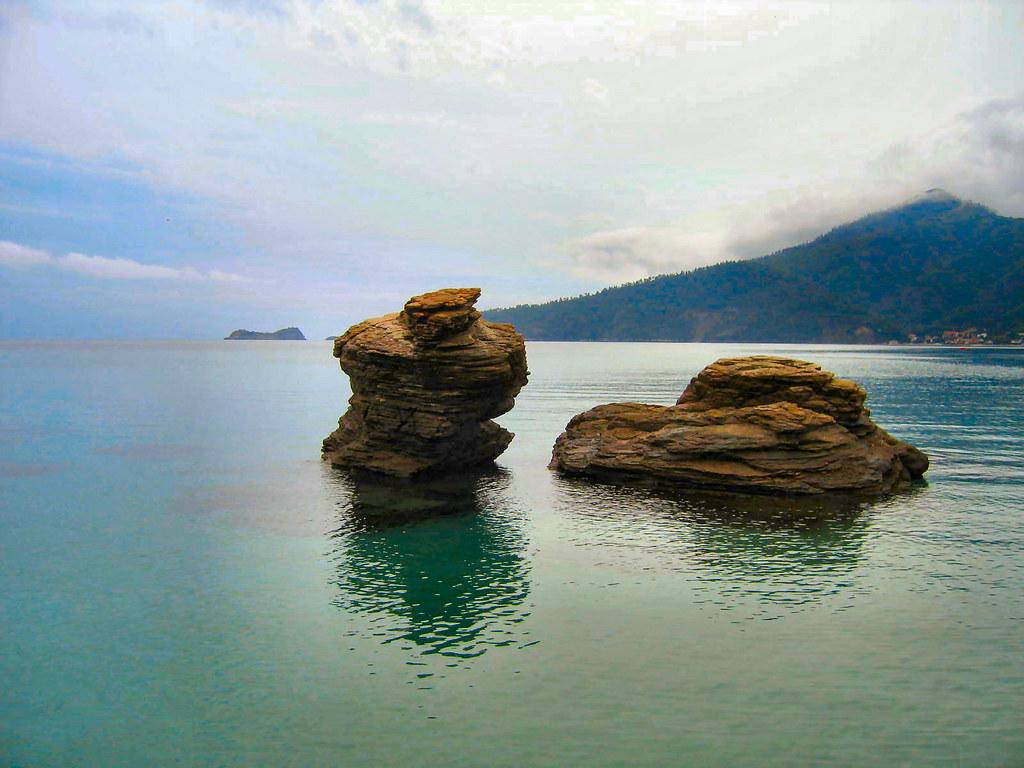 Thassos Greece Or Greek Island