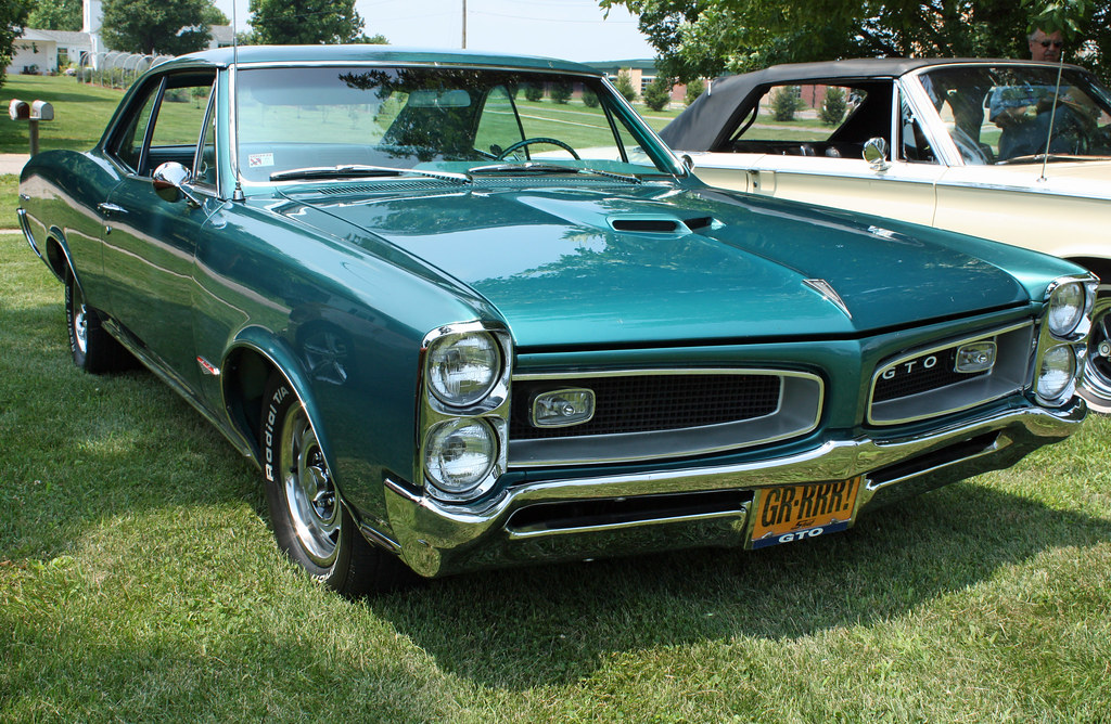 Old New Cars >> 1966 Pontiac GTO Hardtop (3 of 7) | Photographed at the Sixt… | Flickr