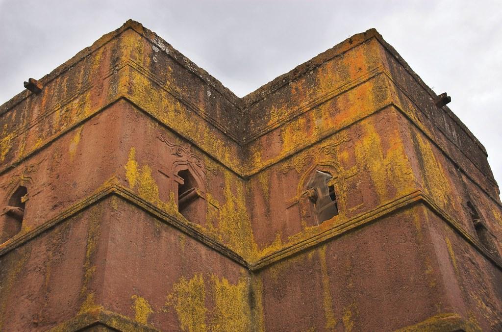 Window Detail, Church of Bet Giorgis, Lalibela, Ethiopia