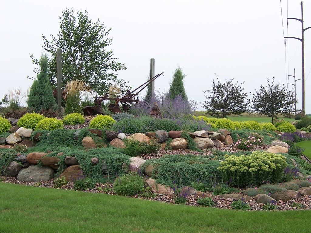 100b0180gardens landscaping rock garden wisconsin ston for Free rock garden designs