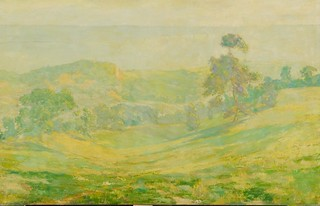 Landscape with Rolling Hills Before Treatment | by IMA - Indianapolis Museum of Art